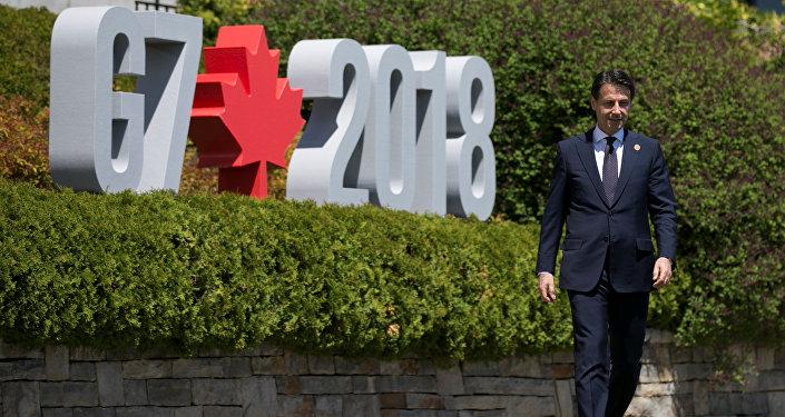Giuseppe Conte, el nuevo primer ministro de Italia, en Canadá