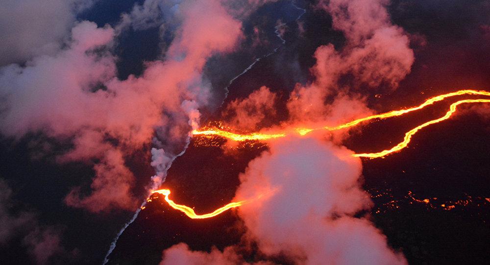La erupción del volcán de Kilauea