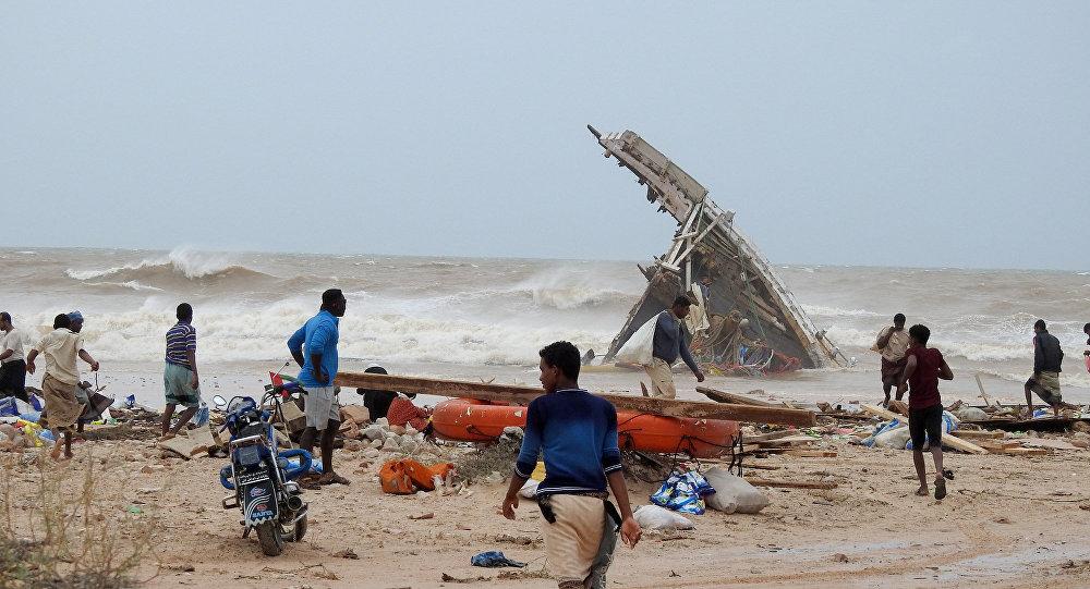 Consecuencias del ciclón Mekunu en Socotra