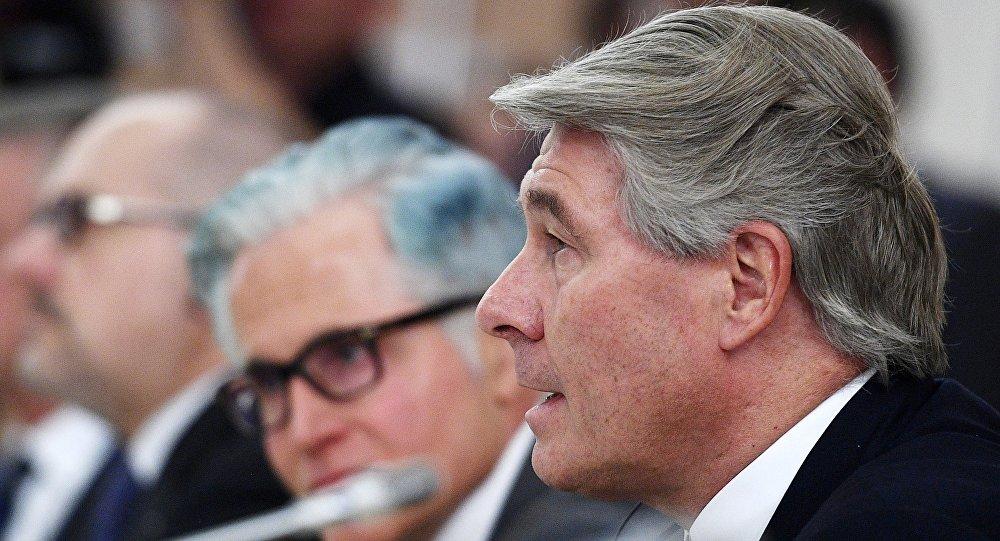 Wolfgang Buchele, presidente del Comité Económico Alemán para Europa del Este