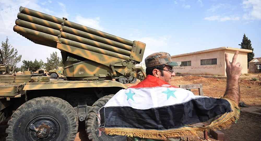 El Ejército de Siria (archivo)