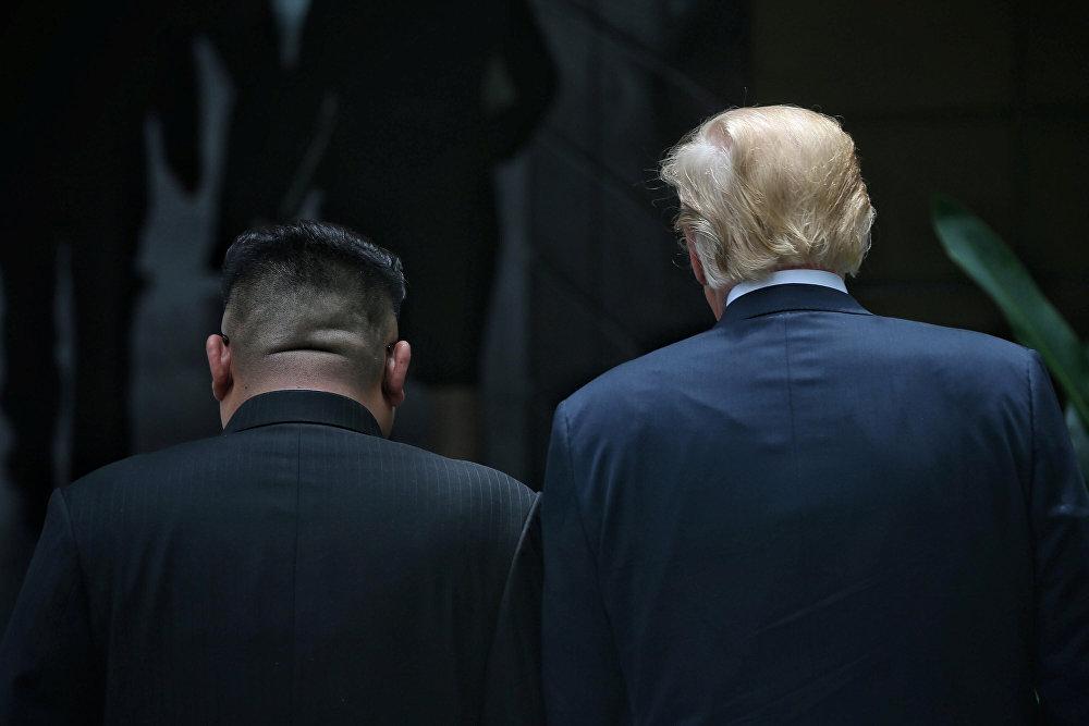 Los momentos más memorables de la histórica cumbre entre Trump y Kim