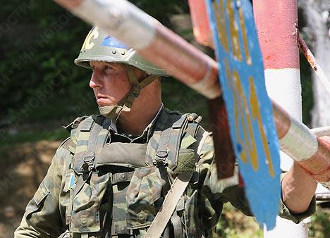 Fuerzas rusas de paz en Abjasia