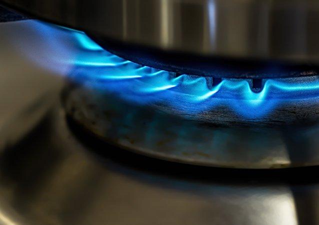 Una llamarada de gas (imagen referencial)