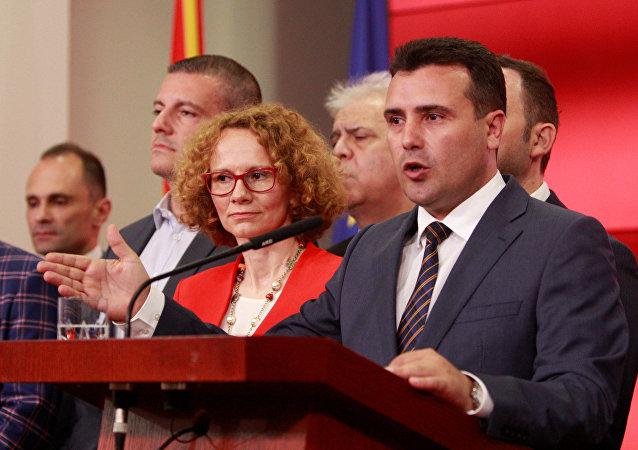 El primer ministro de Macedonia, Zoran Zaev