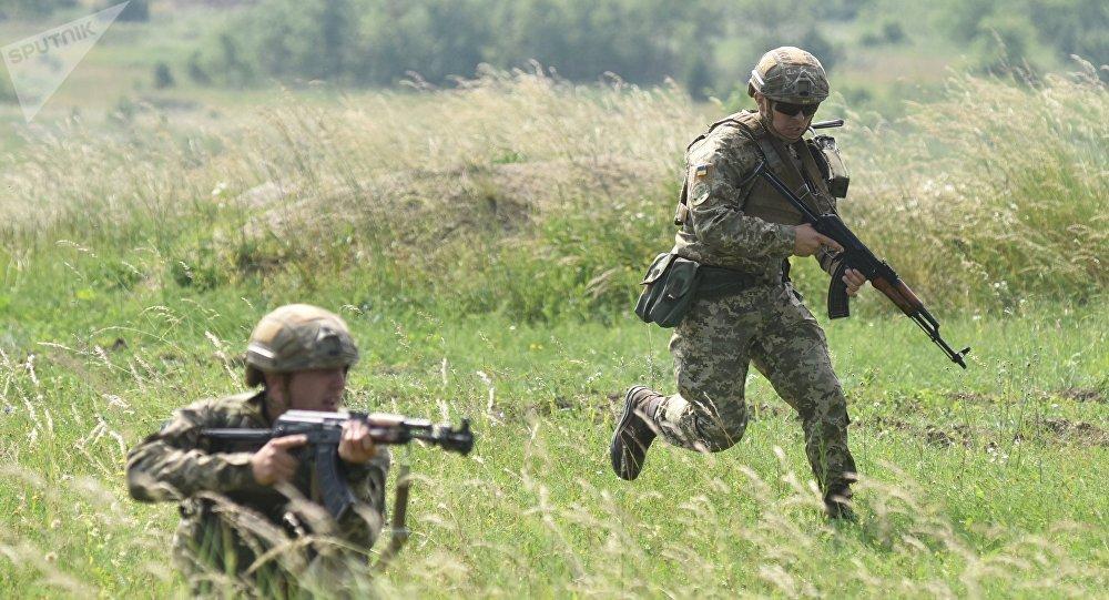 Soldados ucranianos (imagen referencial)