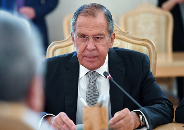 El ministro de Asuntos Exteriores de Rusia, Serguéi Lavrov