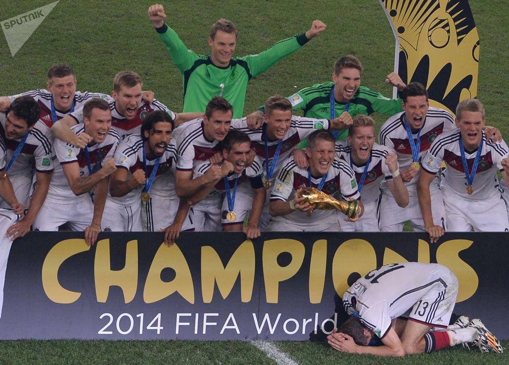 'Crème de la crème': los grandes campeones de los Mundiales