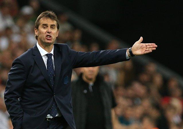 Julien Lopetegui, el entrenador de fútbol