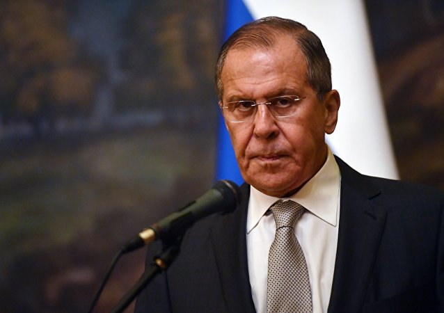 Serguéi Lavrov, ministro de Exteriores de Rusia