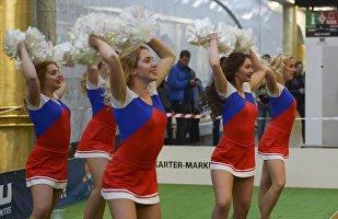 Cheerleaders rusas (archivo)