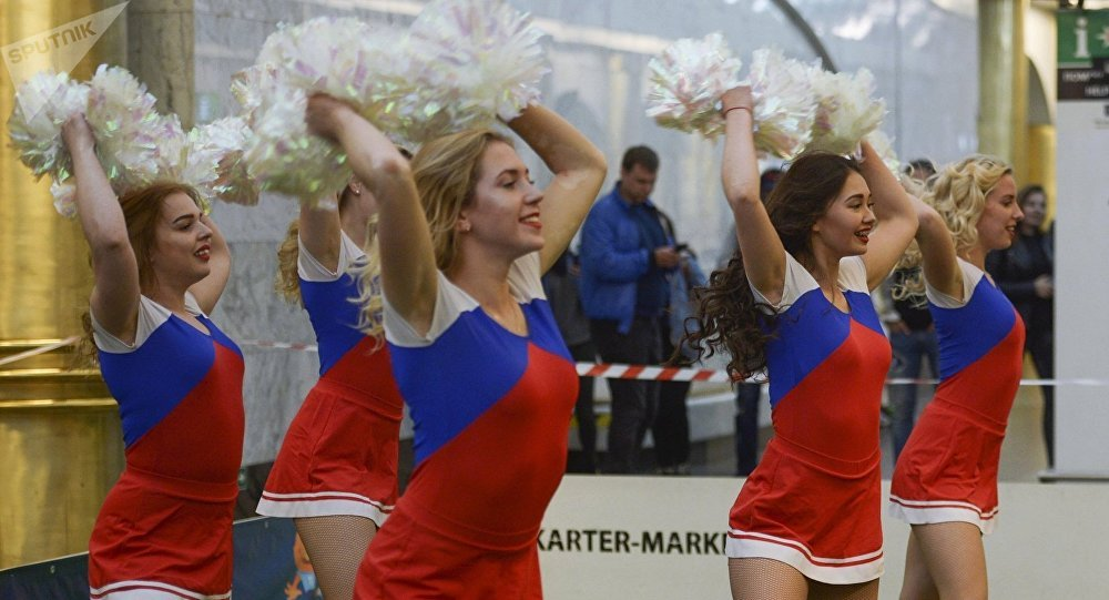 Cheerleaders rusas (archivo)