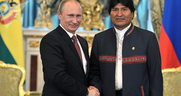 Bandera boliviana ondeará pronto en orillas del Pacífico — Morales
