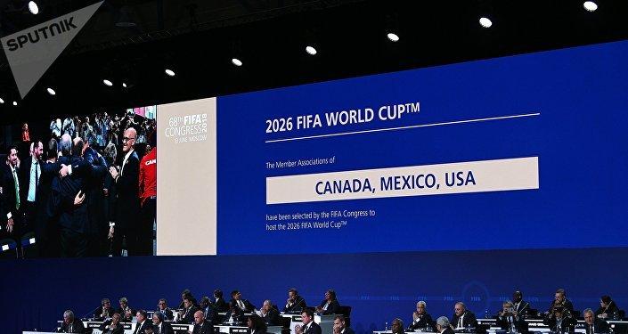 Nominación de EEUU, México y Canadá como sedes de Mundial 2026
