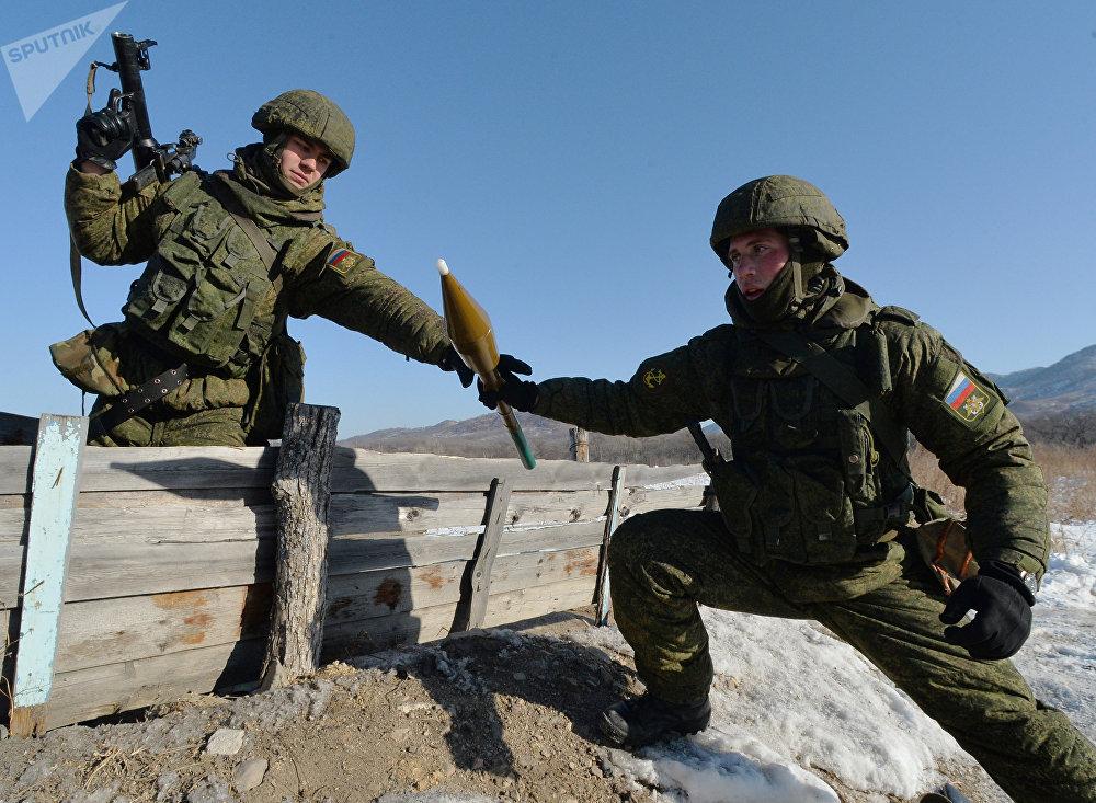 Una granada para RPG-7, imágen referencial