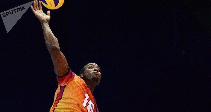 Oreol Camejo, el voleibolista cubano