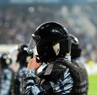 Policía rusa en un estadio de fútbol (archivo)
