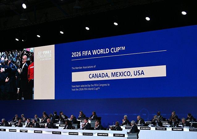 El 68 Congreso de la FIFA en Moscú