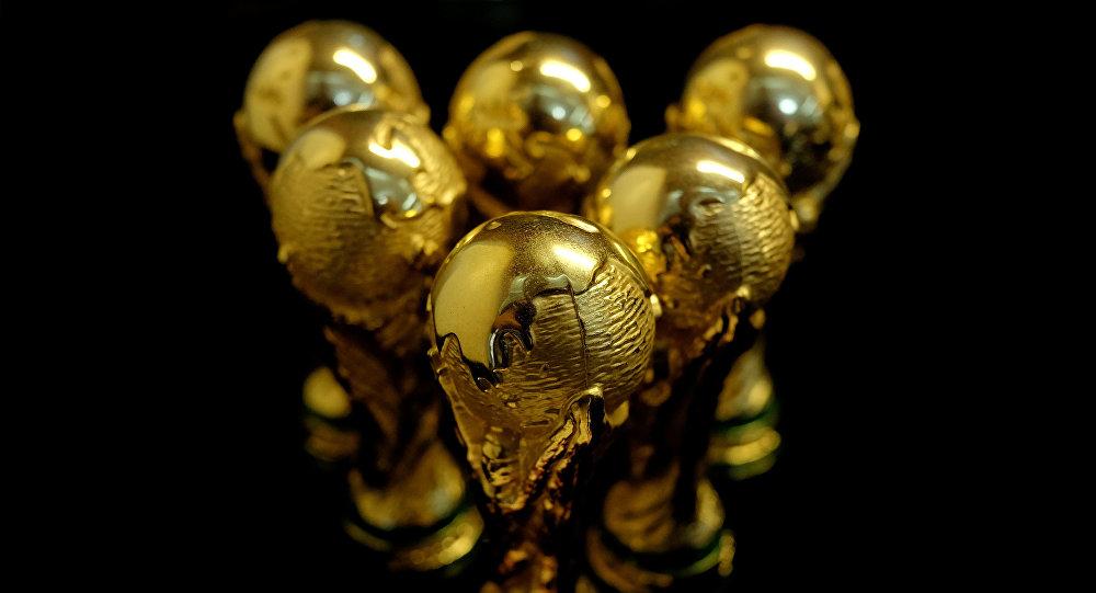 Los trofeos de Mundial de fútbol (imagen referencial)