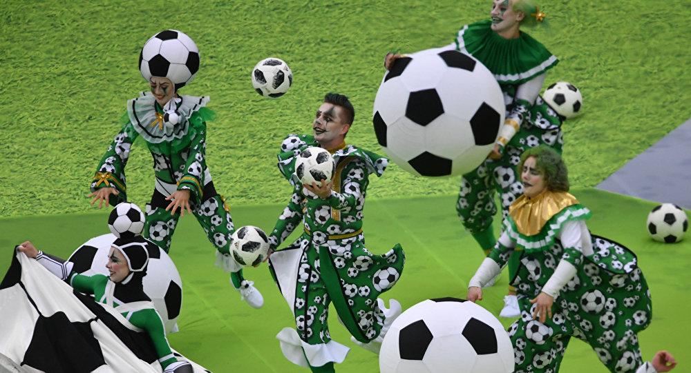 La ceremonia de apertura del Mundial de Rusia, 14 junio de 2018