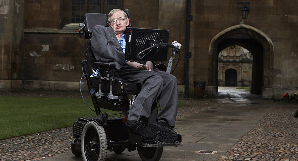 Stephen Hawking, reconocido físico y divulgador científico británico