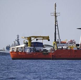 El barco de rescate Aquarius (archivo)