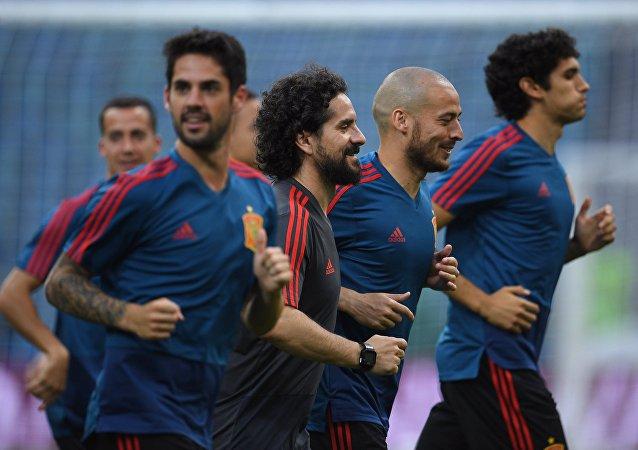 Selección de España en Sochi