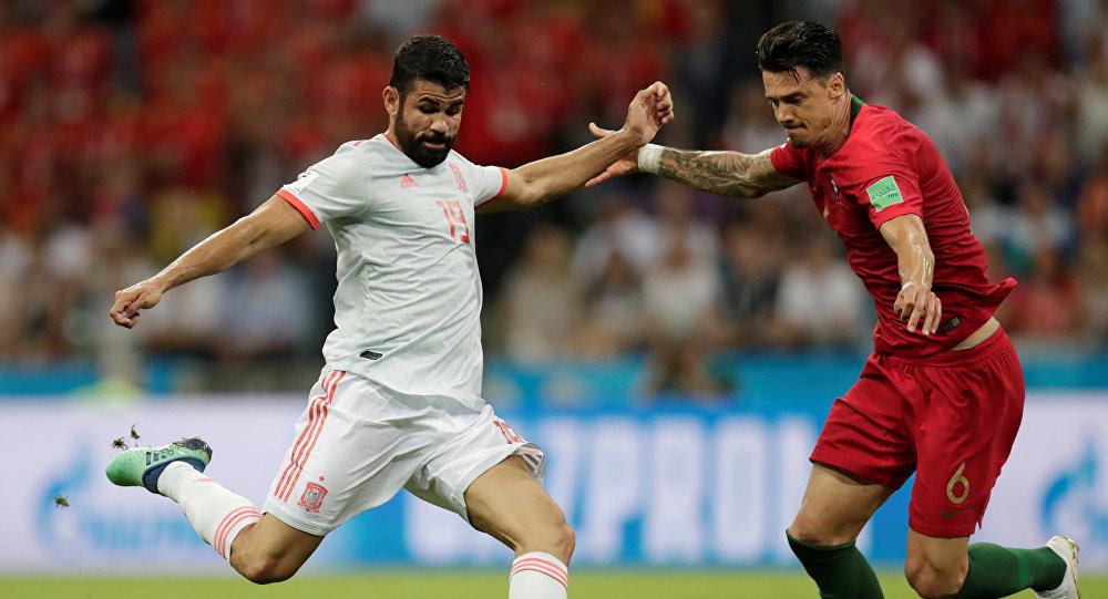 España empata frente a Portugal con un gol de Diego Costa - Sputnik ... 181771b6d2949