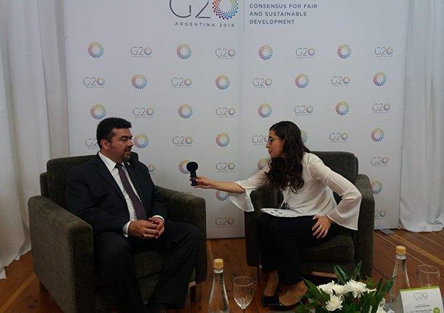 Subsecretario de Planeación y Transición Energética de México, Leonardo Beltrán.