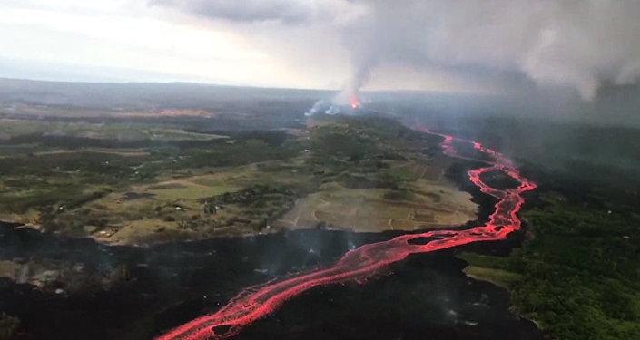 El volcán Kilauea continúa causando destrozos en Hawái tras 40 días de erupción