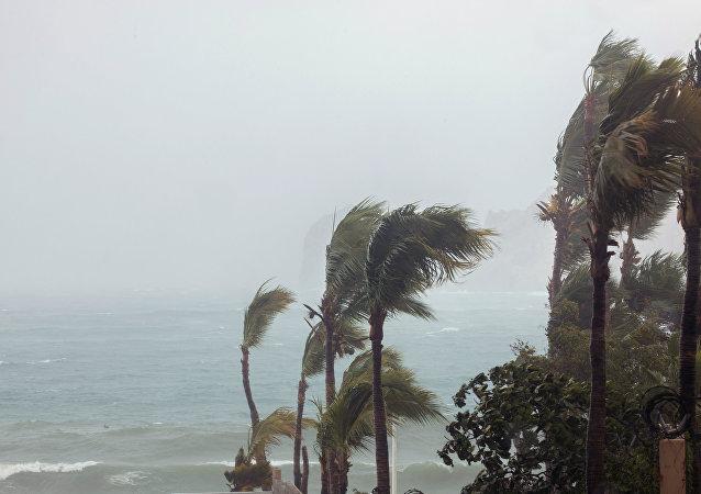 Situación tras el paso del huracán Bud en Los Cabos, México