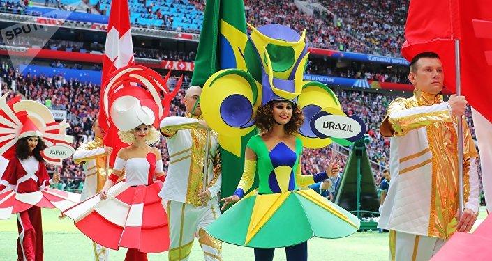 La inauguración del Mundial de Rusia