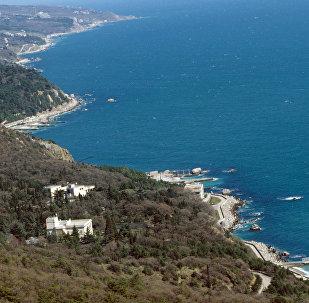 La ciudad de Yalta, situada en la península de Crimea