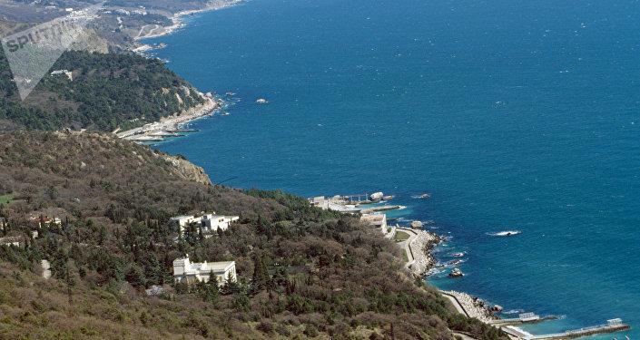La ciudad de Yalta, situada en la península de Crimea (archivo)