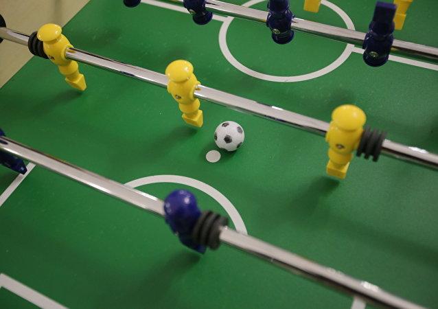 El fútbol de mesa
