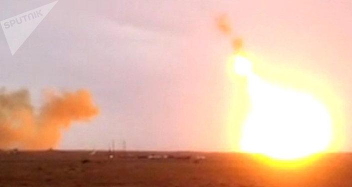 Un lanzamiento del Glonass-M, imagen referencial