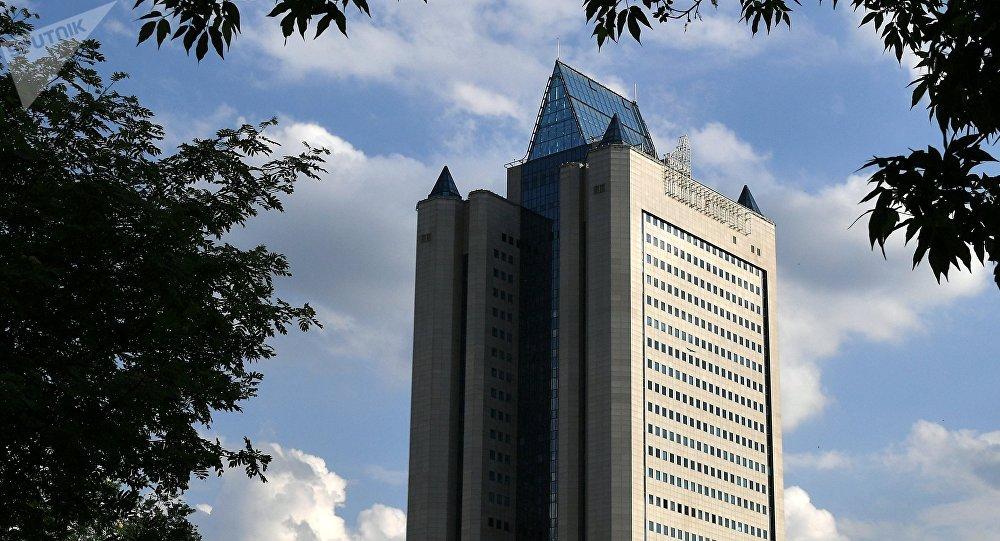 La sede de Gazprom