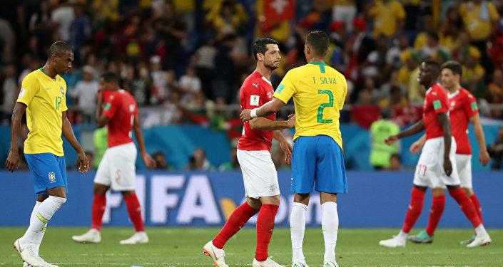 El partido entre Brasil y Suiza