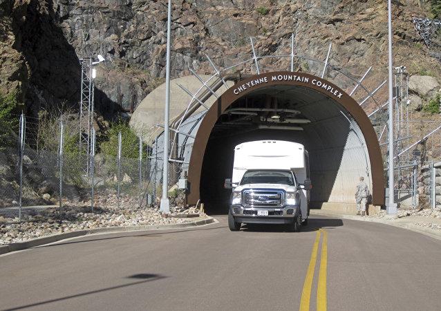 El complejo subterráneo NORAD situado en la montaña Cheyenne