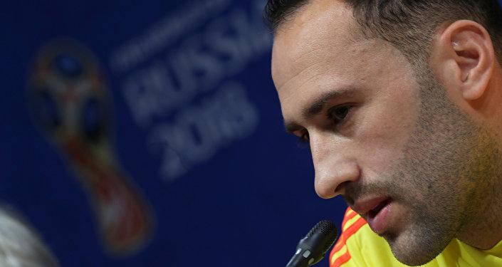 David Ospina, el portero de la selección colombiana