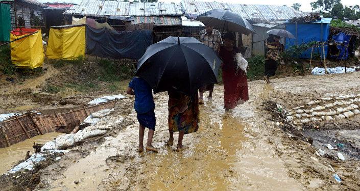 Situación en Cox's Bazar, al sur de Bangladés