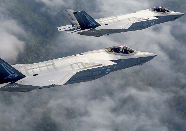 Caza estadounidense F-35 (archivo)