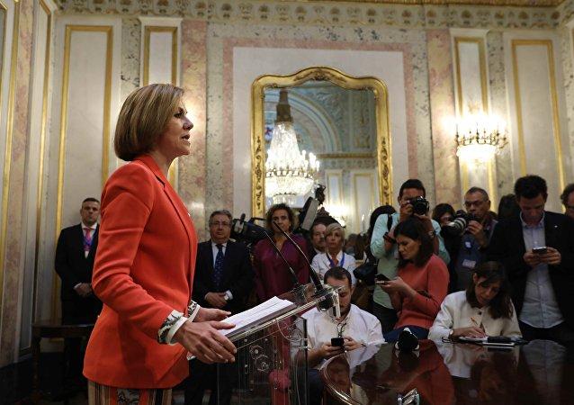 María Dolores de Cospedal, exministra de Defensa y secretaria general del Partido Popular
