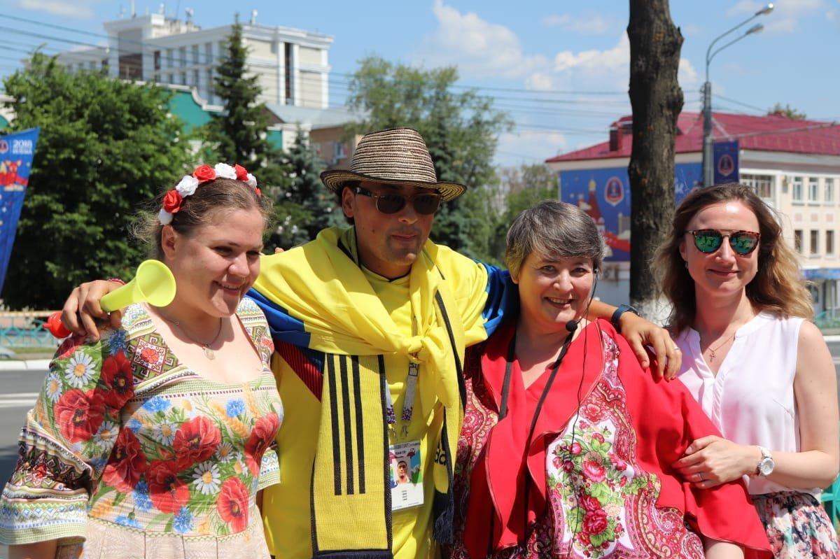 Hincha colombiano en Rusia 2018