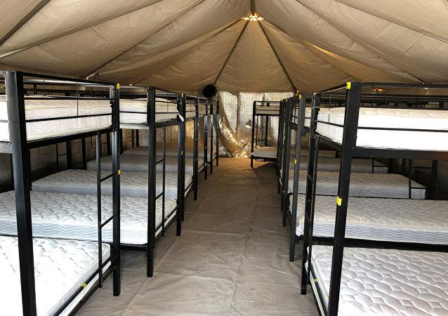 Tornillo, un albergue para niños de migrantes detenidos en EEUU