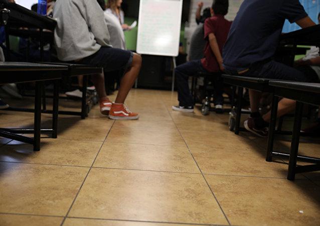 Los niños de los migrantes en EEUU