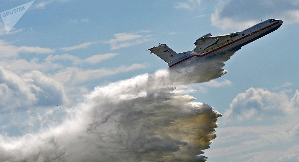 Avión anfibio ruso Be-200ChS