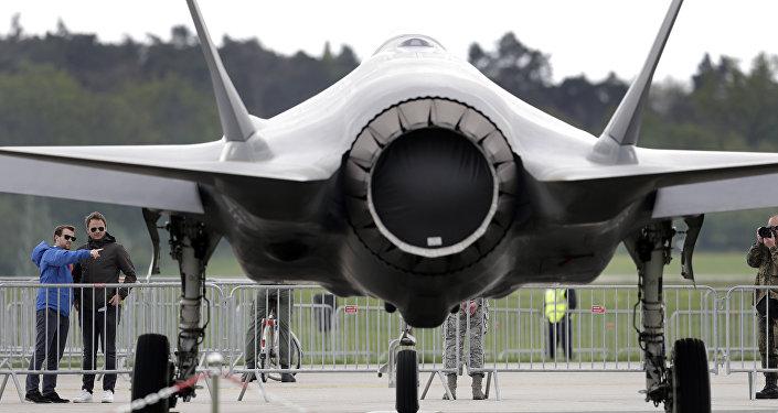 Un caza F-35