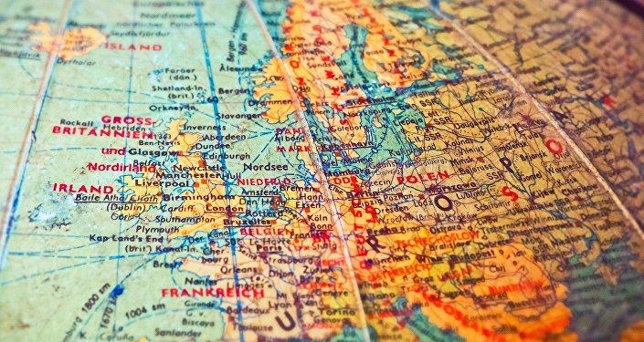 Mapa de Europa del siglo XX (imagen referencial)