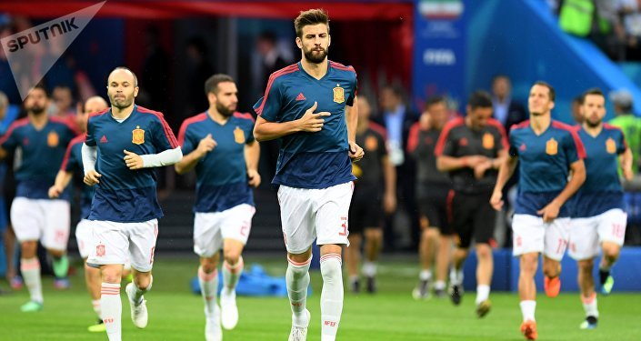 La selección española en el Mundial de Rusia 2018